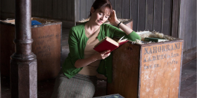 "Emily Mortimer as Florence Green in ""The Bookshop""."