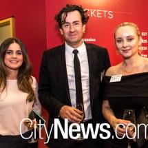 Torilee Arquero, Nick Cornish and Katie Carlton