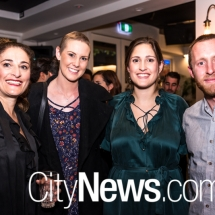 Vickie Gouvoussis, Amber Ferry, Yanna Dascarolis and Brent Redmayne