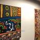 Installation of Warburton paintings