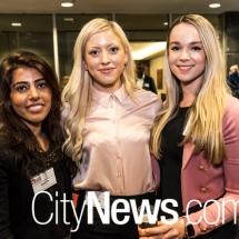 Ayesha Ali, Sarah Bolin and Jessie Mazlin