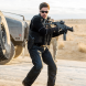 "Benicio Del Toro in ""Sicario: Day of the Soldad""... Its tensions are strong and its action is vigorous."