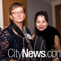 Cathy Skippington and Ikuko Kusaka
