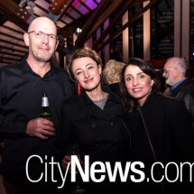 Craig and Susan Moriarty with Bronwyn Noack