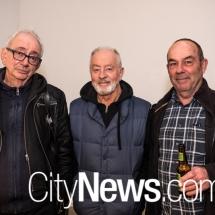 David Broker, Robert Boynes and Brenton McGea