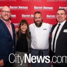 Gavin Pound, Adina Cirson, Alan Myburgh and Justin Dubyna