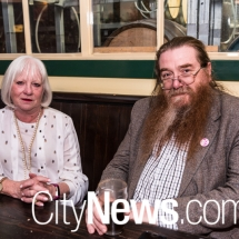Janie McOmish and Mark Fraser