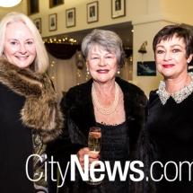 Jodie Archinal, Sue Samarcq and Lyne Morrison