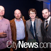 Joel Smith, David Dufty, Jenny edwards and Brendan Donnan