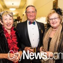 Lorraine Sanderson, Gen. John Sanderson and Trish Fletcher