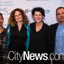 Michele de Krester, Felicity Castagna, Catherine McKinnon and Kim Scott