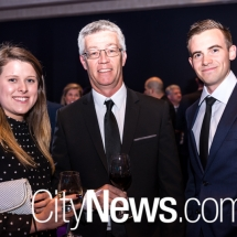 Nadine Szydlik, Shaun Bray and Will Headland