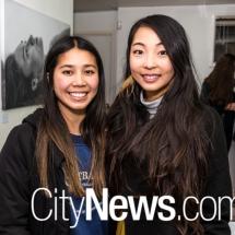 Rebecca Tran and Helena Zeng