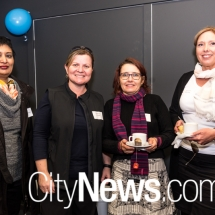 Remy Raj, Michelle Kroll, Cheryl Warnock and Tracey Hackett
