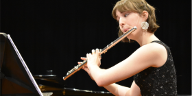 Flautist Serena Ford… at Llewellyn Hall, Saturday, June 30.