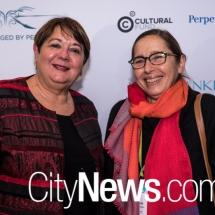 Sharon Galleguillos and Ingrid Anderson
