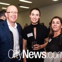 Stephen Byron, Eleanor Cubis and Karen Emms