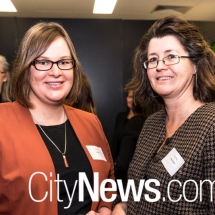 MLA Suzanne Orr and Jules Bray