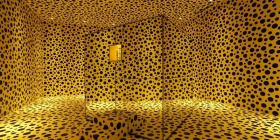 "Yayoi Kusama's ""The Spirits of the Pumpkins Descended into Heaven,"" 2015, installation view at Museum MACAN, Jakarta, courtesy of Ota Fine Arts, Tokyo/ Singapore/ Shanghai"