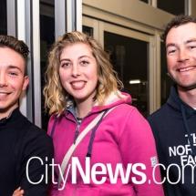 Dean White, Rebecca Rowe and Harry Medhurst