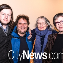 Lawrence Wooding, Dylan Jones, Kathy Kituai and Sarah St Vincent Welch