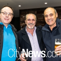 Lloyd Weedall, John Bellini and John Castrucci
