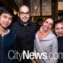 Milos Kurniawan, Mirko Immerso, Claudia Alghisi and Desy Desy
