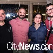 Rocky Veneziano, Joe Campagna, Monica Pilo and Luigi Bella