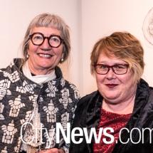 Sharon Peoples and Deborah Faeyreglenn