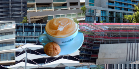 The coffee economy... Digital imagery by PAUL COSTIGAN