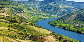 The Douro Valley… a steep and dauntingly beautiful place with vines and buildings hanging high above the glorious river.