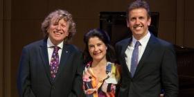 Piers Lane, Dimity Hall, and Julian Smiles