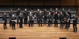 National Eisteddfod 2017 - Choirs. Open Australian Choral Challenge. ANU Vocal Fry directed by Tobias Cole