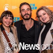 Bridget Seberry, Ryan Corr and Bronte Morgan