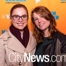 Hannah Webb and Holly Anderson