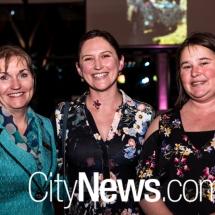 Jacinta Telford, Claire Crosthwaite and Jacqueline Brittain