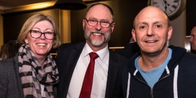Kathy O'Sullivan, Bill Lawrence and Richard Denniss