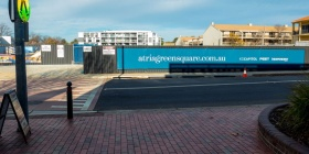 The Eyre Street Atria mixed commercial and residential development… praise all round from the residents. Photo by Paul Costigan