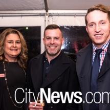 Rebecca Bisa, Matt Connolly and Patrick Rayward