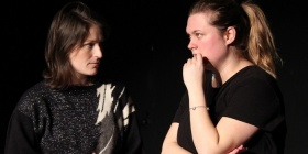 'Moving Climates' develoopment, Alison Plevey (left) Cara Matthews (right)1