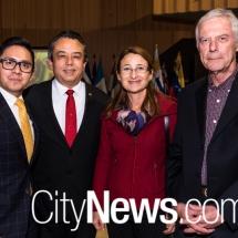 Santiago Ballina, Eduardo Peña-Haller, Elisabeth Mayer and Brett Yeats