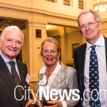 The Hon. Nick Greiner, Fiona Leviny and Michael Rowe