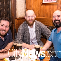 Tim Cullen, Martin Greenwood and David Ferguson