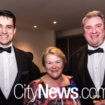 Brodie Buckland, Margaret Hunter OAM and James Stewart