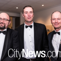 Daryl Sheppard, Peter Short and John Gould