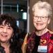 Dr. Gina Newton and Prof. Belle Alderman AM
