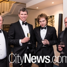 Gavin Howard, John Larkings, James Haddock and Gregor Urbas
