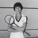 Heather McKay pictured in 1980 by Ern McQuillan. Image: National Portrait Gallery