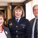 Judy Mack, Air Commodore Kathryn Dunn and Les Bienkiewicz