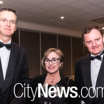 Justice David Mossop, Karen Frybar and Steve Whybrow
